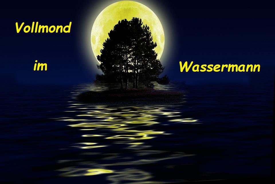 Vollmond im Wassermann