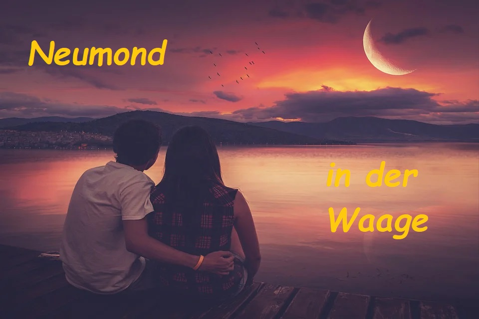 Neumond in der Waage